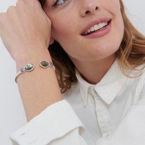 ★☆NEW | Lucky Brand Abalone Hinge Cuff Bracelet